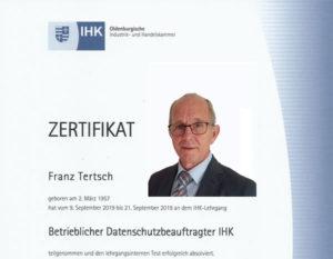 Franz Tertsch - DPO